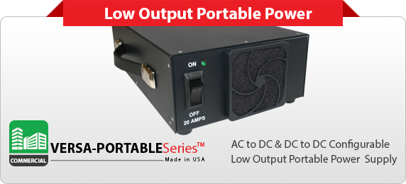 Commercial Portable Power Supply | Commercial Portable Custom Power