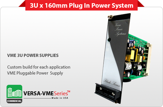 Commercial Pluggable 6u Vme Power Supply Commercial 6u Vme