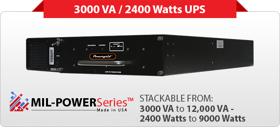 Military Uninterruptible Power Supply | Military UPS
