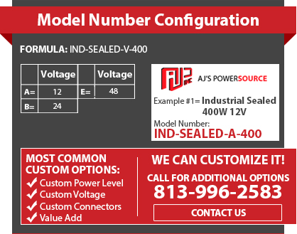 Industrial Sealed IP67 AC DC Power Supply, Industrial IP67 Power Supplies, Custom Industrial Sealed Power Supply, Industrial Sealed IP67 Power Supply
