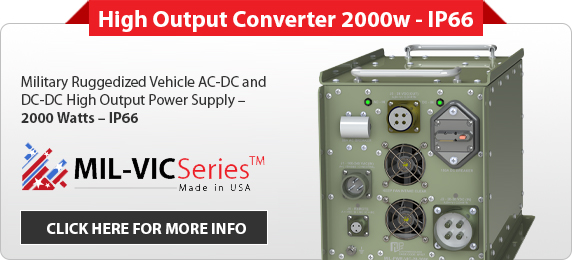 MIL-VIC-High Output Converter 2000w - IP66