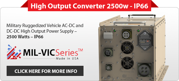 MIL-VIC-High Output Converter 2500w - IP66